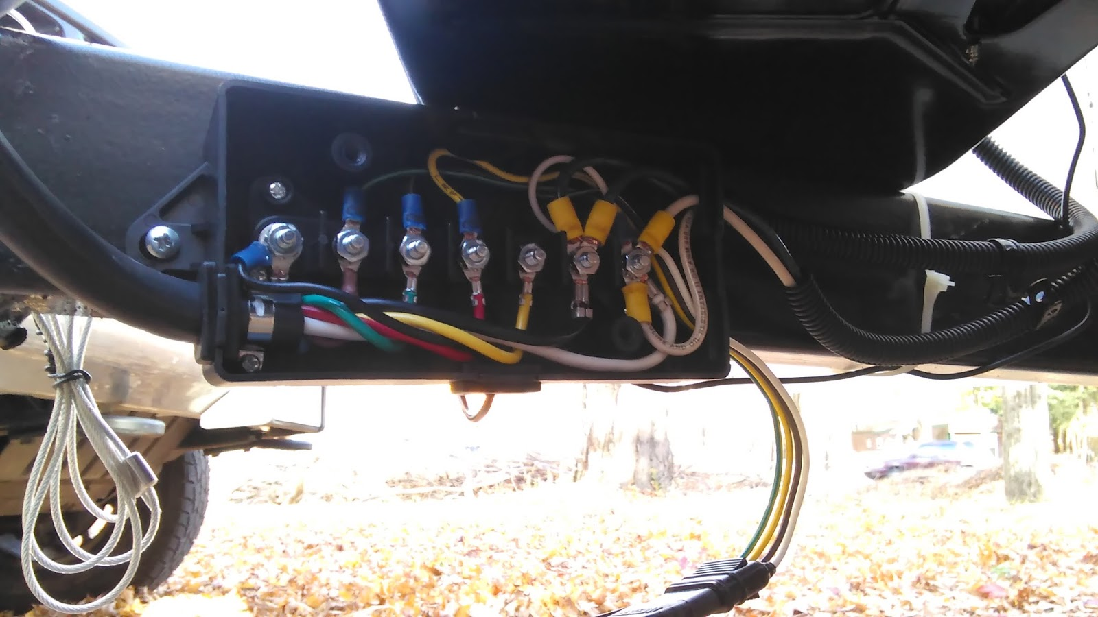 Rv Junction Box Wiring Diagram Schemes A Trailer 6x12 Cargo To Conversion Rh Ywhic Blogspot Com 7 Way
