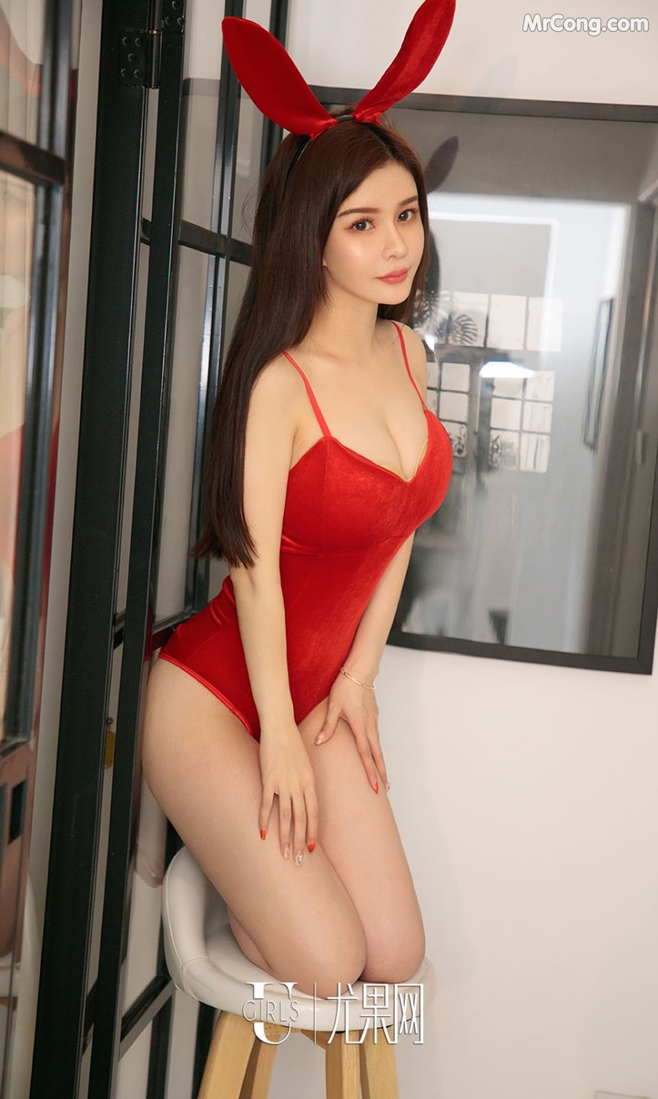 Image UGIRLS-Ai-You-Wu-App-No.1285-Chun-Xiao-Xi-MrCong.com-008 in post UGIRLS – Ai You Wu App No.1285: Người mẫu Chun Xiao Xi (纯小希) (35 ảnh)