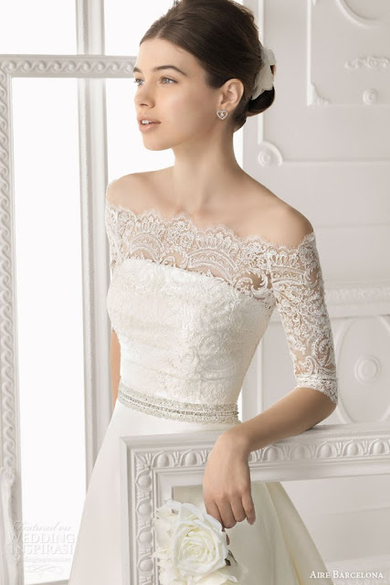 Aire Barcelona Vintage 2014 Bridal Collection Lace