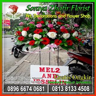 toko bunga standing flowers
