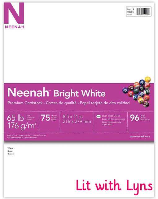 White card stock