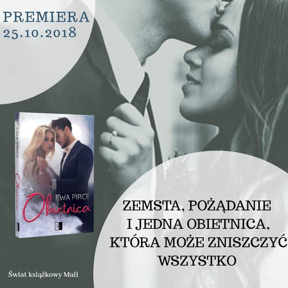 Ewa Pirce - Obietnica - Wydawnictwo NieZwykłe - Zapowiedź