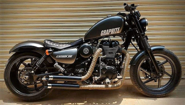 Bulleteer Customs Graphite Royal Enfield Thunderbird