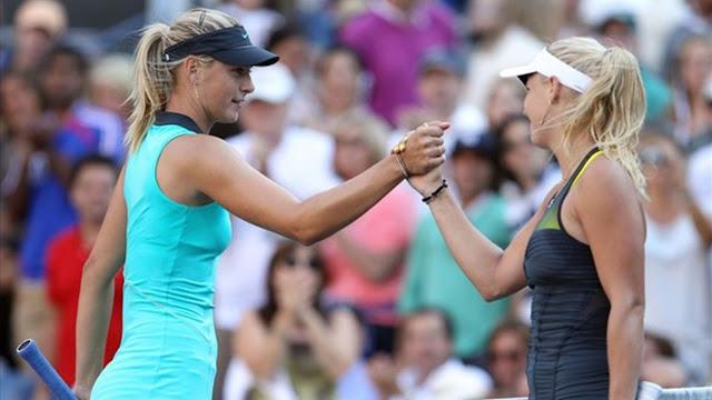 Caroline Wozniacki'den Maria Sharapova'ya Çok Sert Tepki