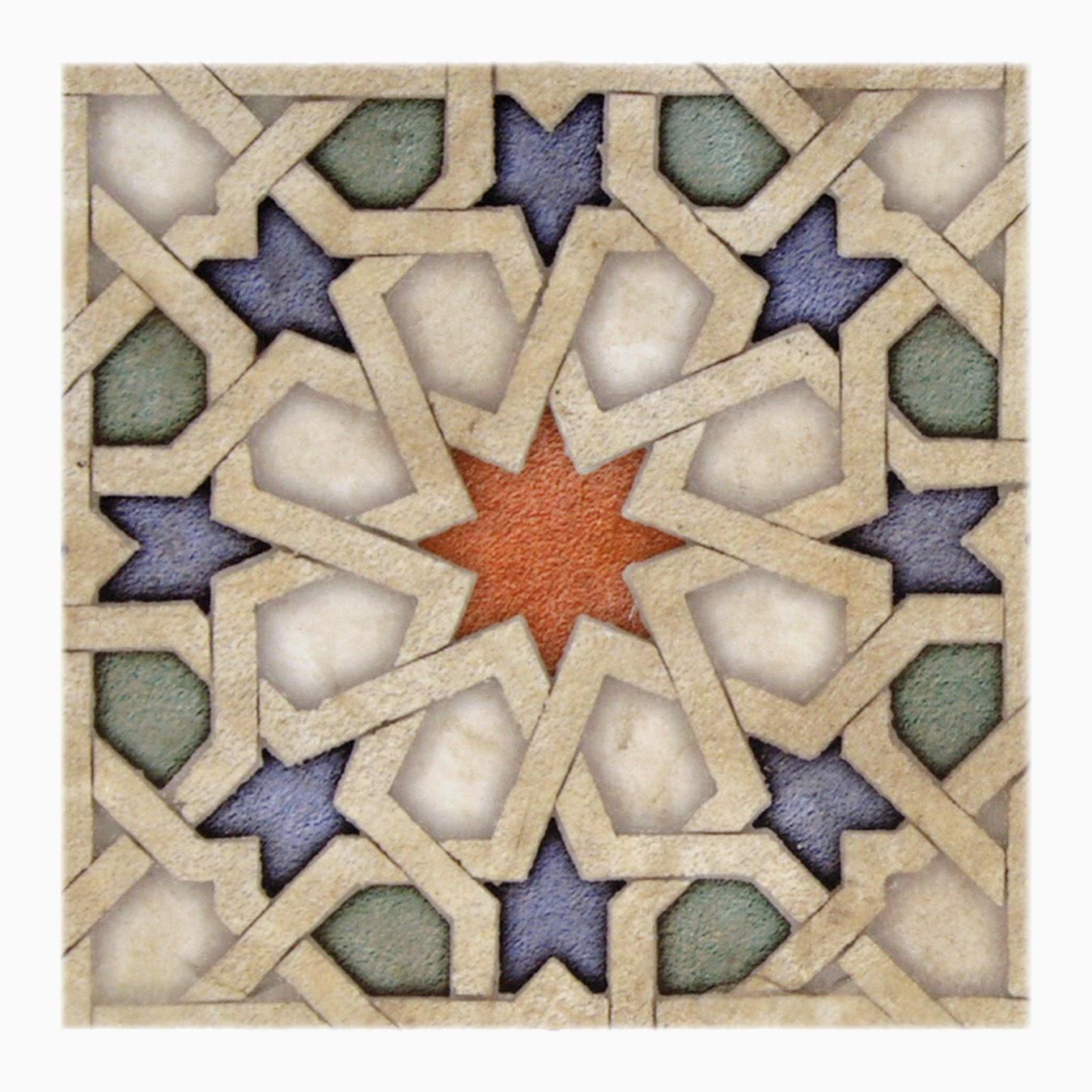 Eastern star single tile