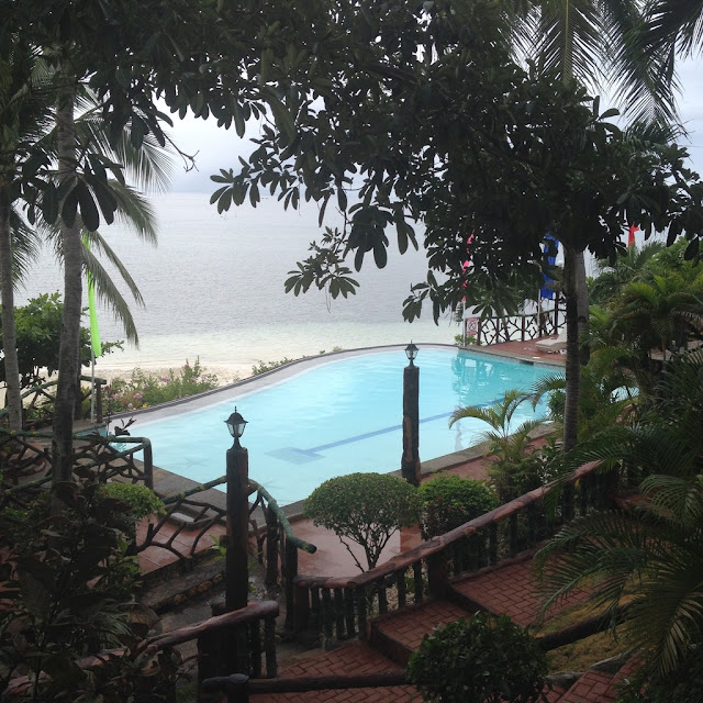 The swimming pool at the Santiago Bay Garden and Resort