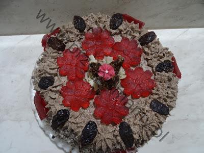 Tort kawowo - czekoladowy
