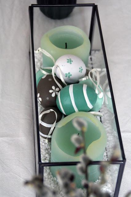 Keramik-Ostereier