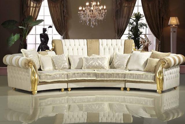 Sofa cổ điển mang phong cách châu âu