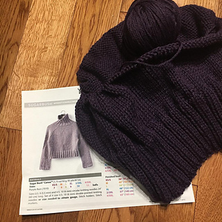 738d5ad8683d It s a bottom-up sweater with a yoke construction