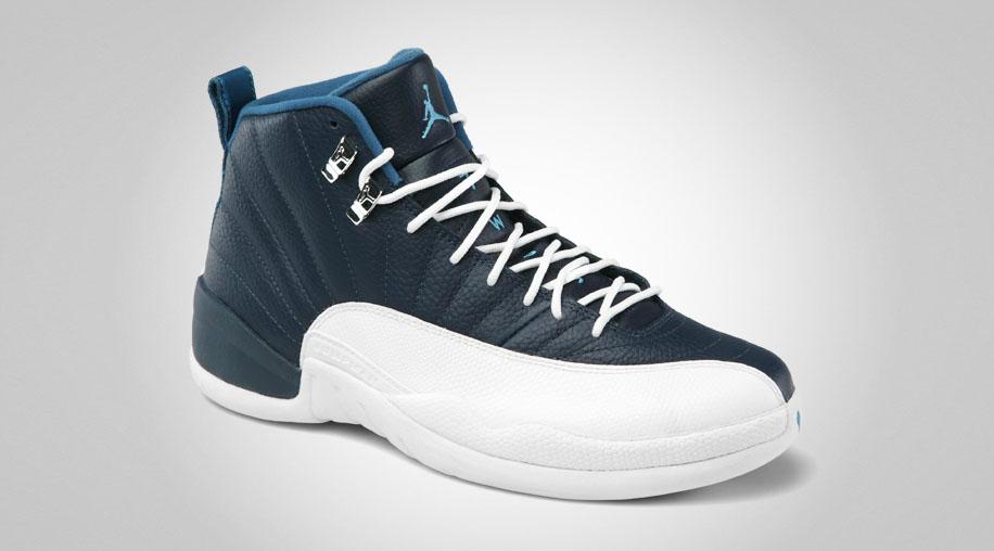 bd6d7aafc77 06 23 12 Air Jordan Retro 12 130690-410 Obsidian University Blue-White-French  Blue