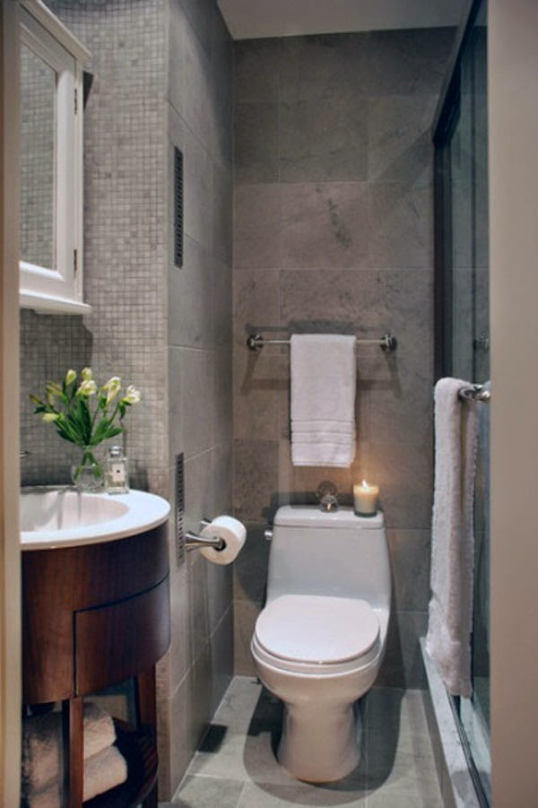 Small&LowCost: Inspiración para baños pequeños - trucosymanualidades.com