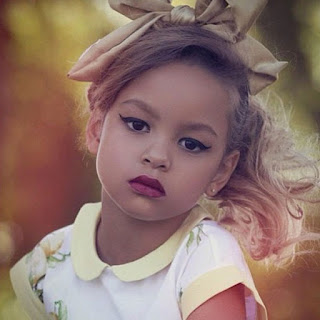 little girl eyeshadow