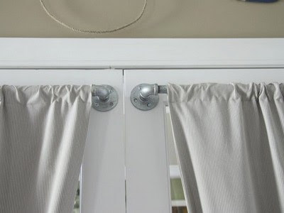 Hinged Curtain Rods For French Doors