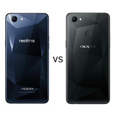 Realme 1 vs Oppo F7  Comparison