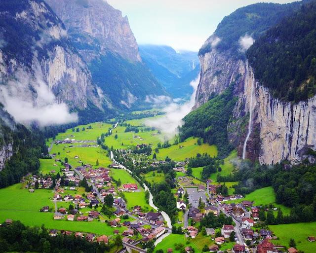 o que fazer em Lauterbrunnen, lugares mais bonitos da Suíça