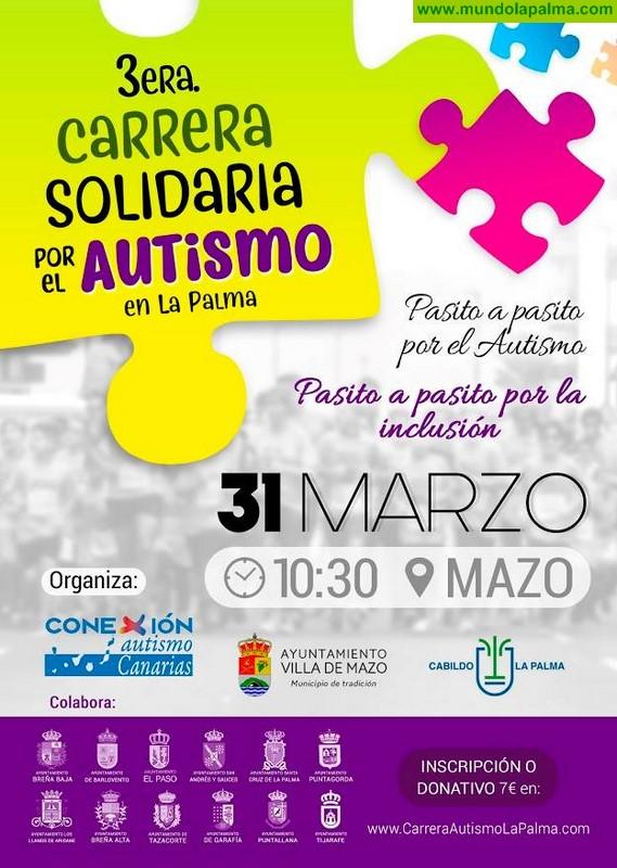 3 Carrera Solidaria por el Autismo en La Palma