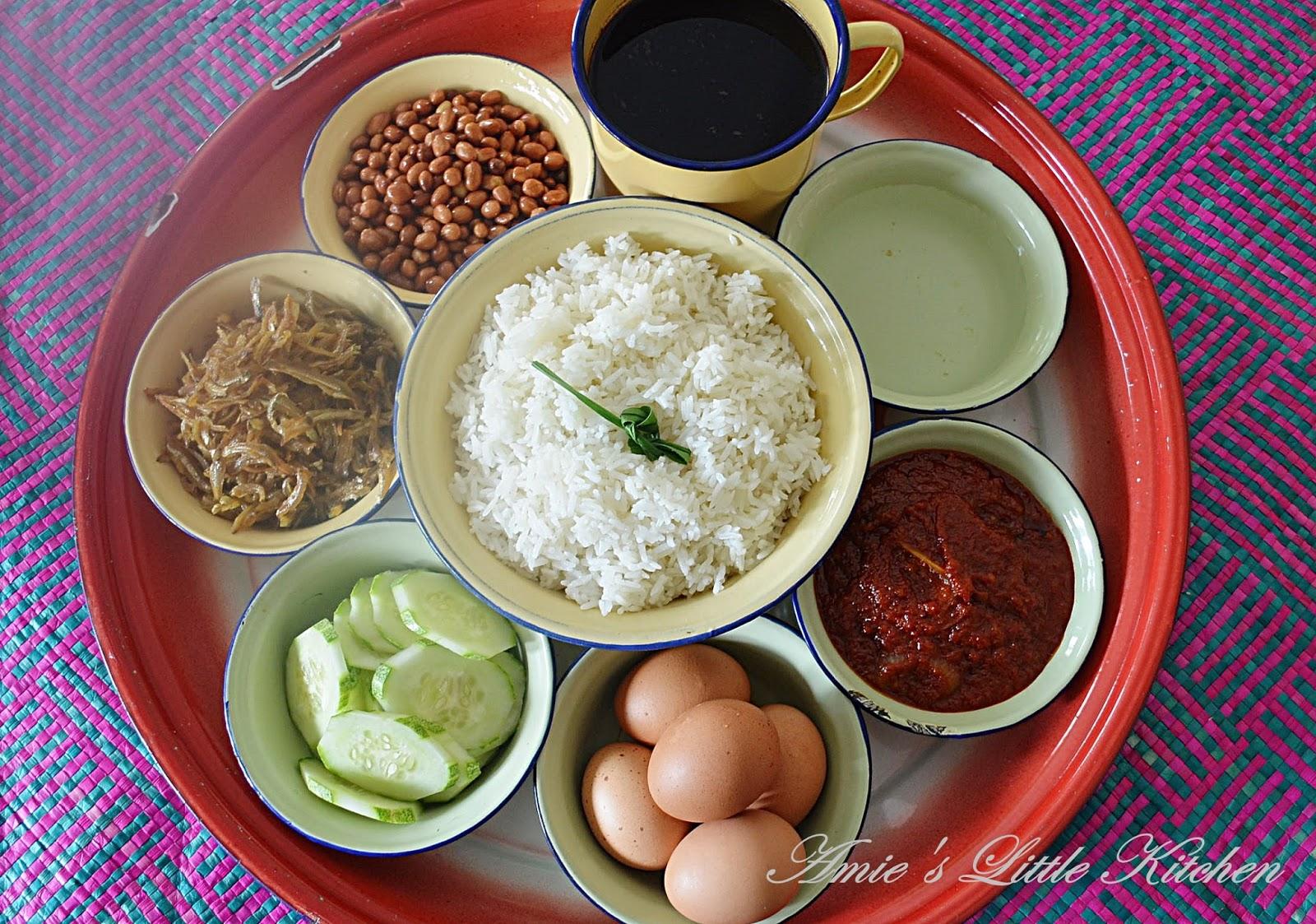 amies  kitchen nasi lemak tips nak buat sambal tak berapa pedas Resepi Nasi Dagang Johor Enak dan Mudah