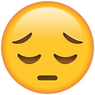 Whatsapp Sad Face Emoji
