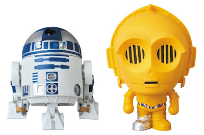 Star Wars x A Bathing Ape Baby Milo Wave 3 Vinyl Figures by Medicom – R2-D2 & C-3PO