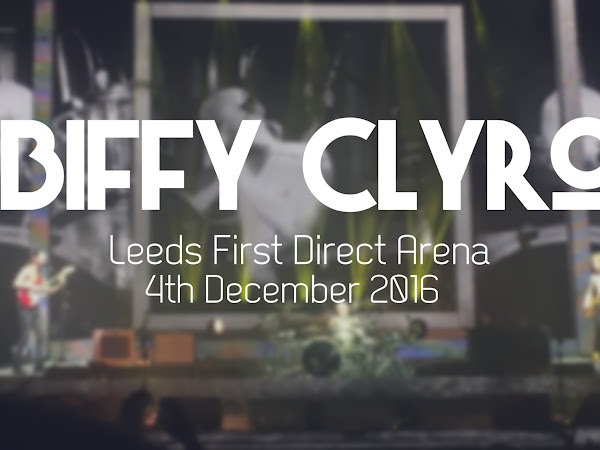 LIVE REVIEW: BIFFY CLYRO, LEEDS FIRST DIRECT ARENA // 4TH DECEMBER 2016