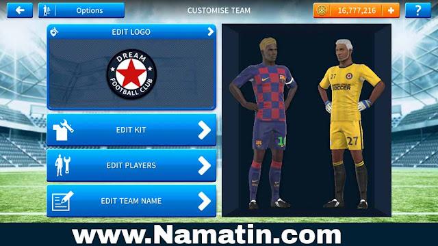Jersey Dream League Soccer Barcelona