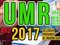 Daftar UMR 2017 Seluruh Provinsi di Indonesia