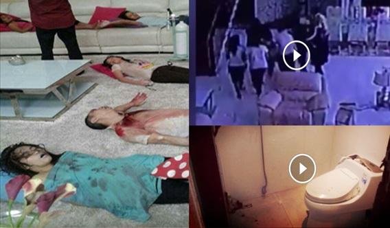 ALLAHHUAKBAR ! Inilah Rakaman CCTV Detik Pembunuhan Keluarga VVIP Yg Dikurung Semalam ! Kesiannya Tengok =(