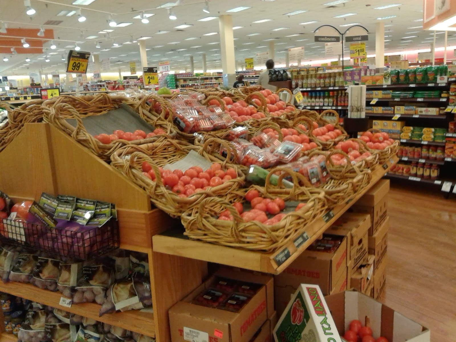 albertsons florida blog  the photo above looks from the produce department diagonally across the store