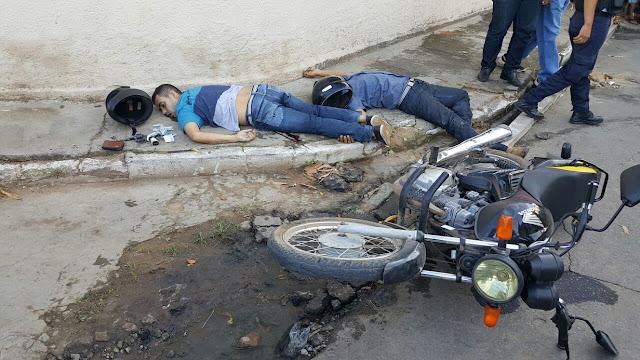 CE: Dois criminosos assaltam panificadora e são mortos a tiros quando tentavam fugir
