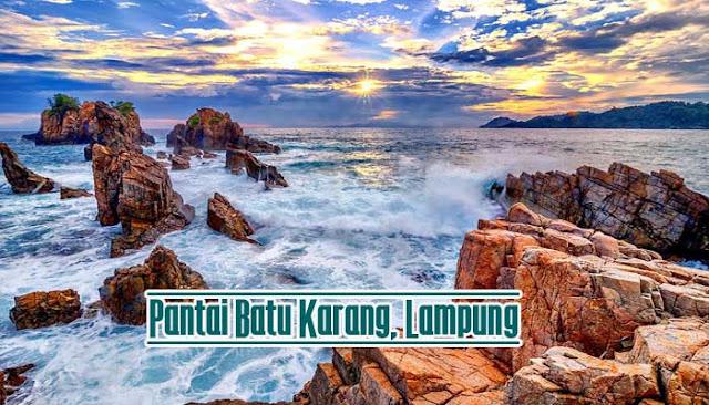 Pantai Batu Karang Lampung