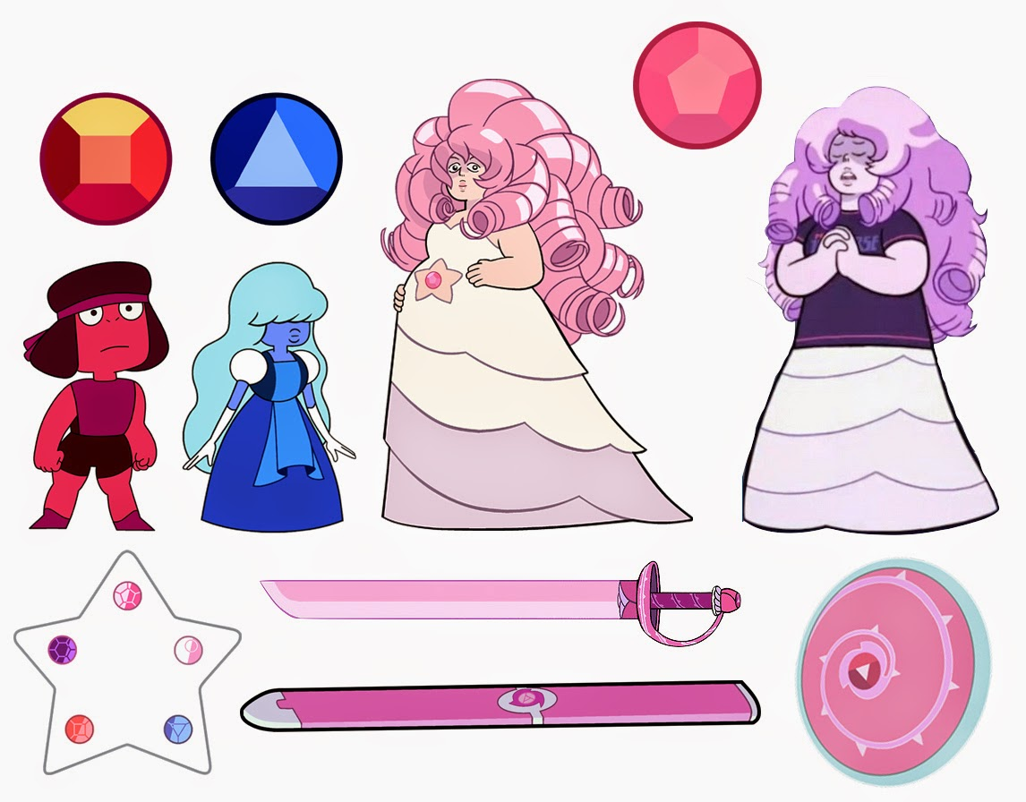 Dou hong steven universe references gems - Ruby and sapphire su ...
