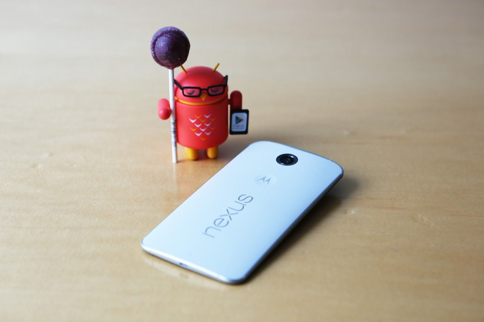 Nexus 6 from Google and Motorola: More Android. More screen. More everything.