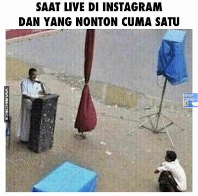 12 Meme 'Main Instagram' Ini Kocaknya Nggak Nanggung-nanggung