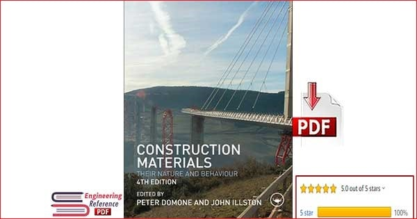 Download Construction Materials Fourth Edition by Peter Domone and John Illston PDF