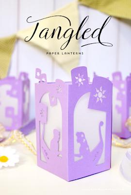 tangled lantern printable