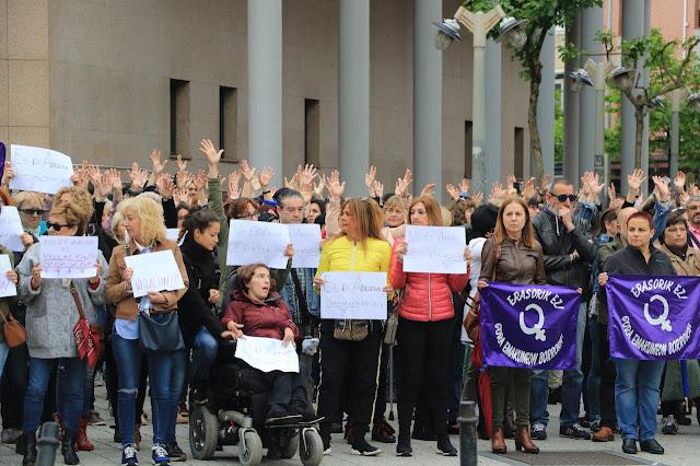 manifestación contra la sentencia a La Manada