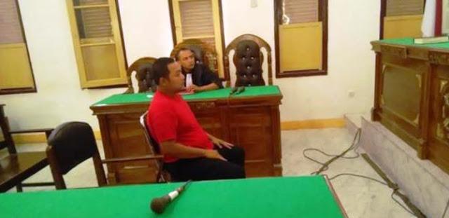 Sobek Alquran, Oknum Polrestabes Medan Ini Dituntut 16 Bulan Penjara