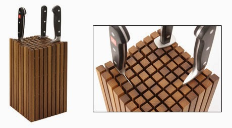 A magnetic knife strip provides great stability, and allows you to store  your knives on a wall, saving counter space while keeping your knives ...