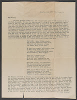 Page one of a typed letter.