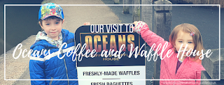 Our visit to Oceans Coffee and Waffle House, Cheddleton