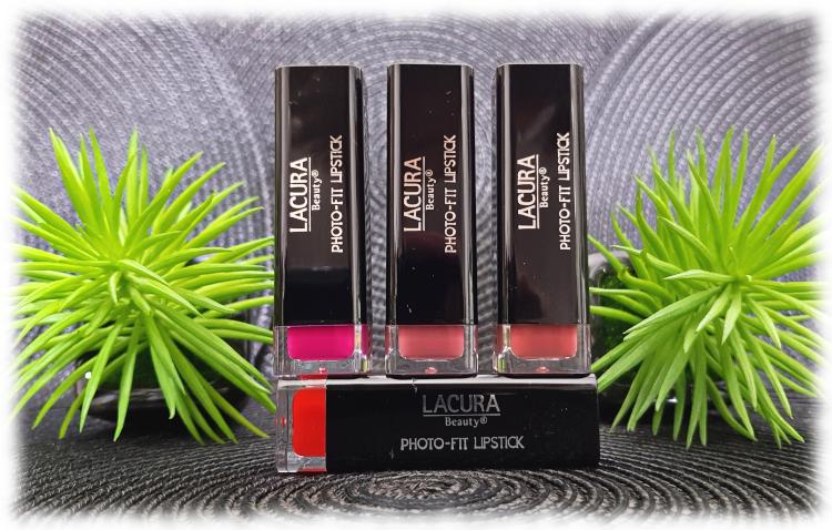 Lacura Photo-Fit Lipsticks