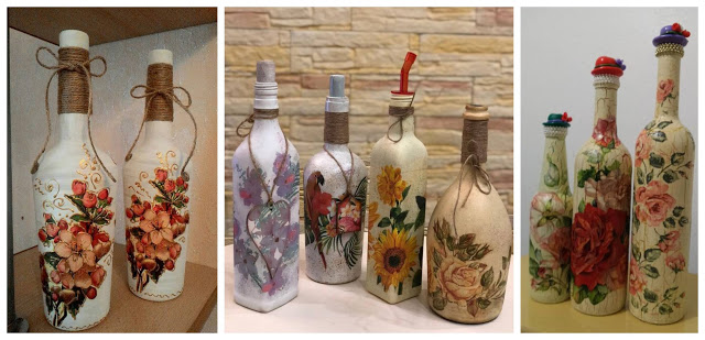 botellas-decoupage