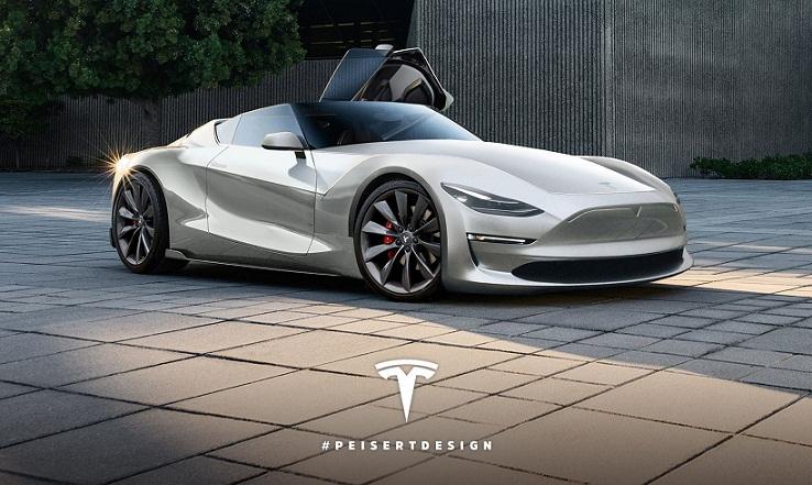 Tesla Roadster, Mobil Listrik untuk Perjalanan ke Mars