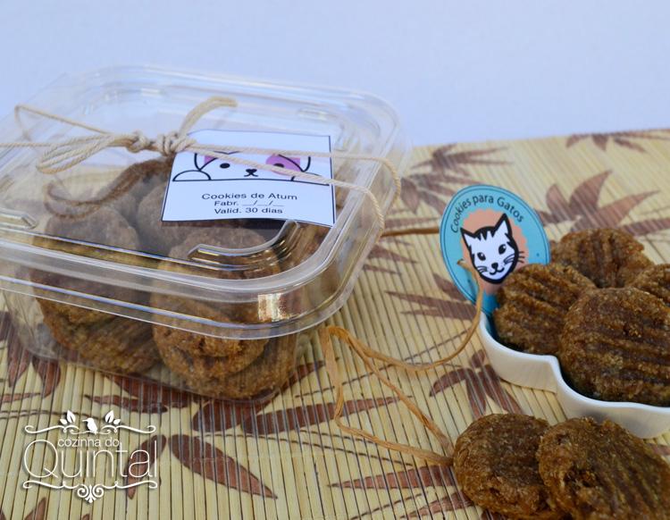 Cookies para Gatos no Pote com Lacre Galvanotek ref. G 732