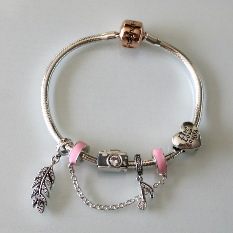Soufeel Jewelry Rose Gold Charm Bracelet