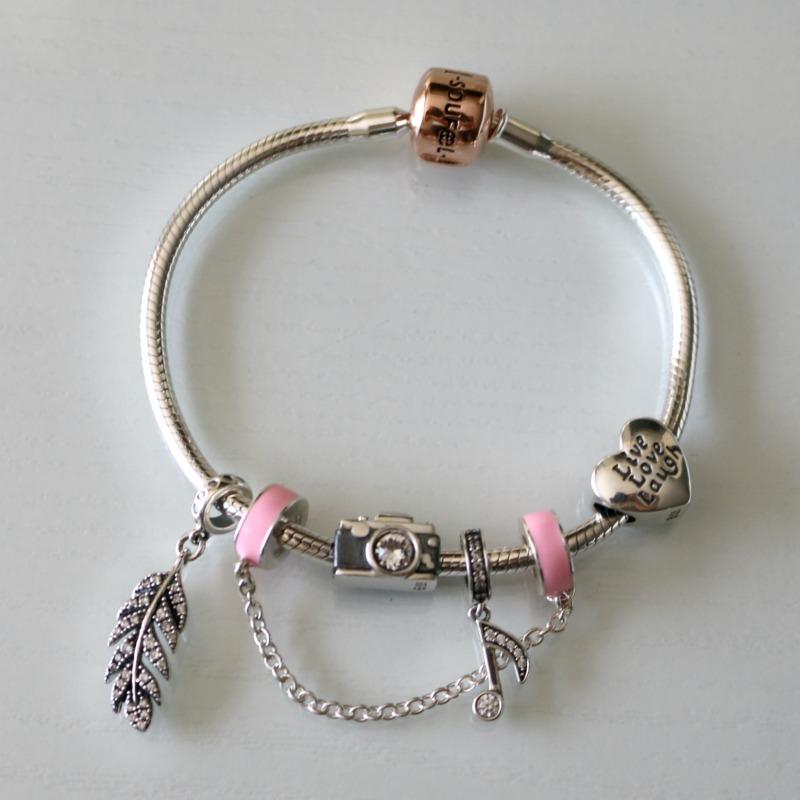 Soufeel Jewelry Rose Gold Charm Bracelet Natalie Loves