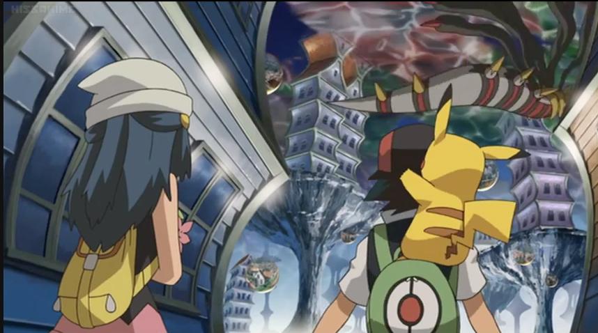 Anime Annoyances Recap Pokemon Giratina And The Sky Warrior