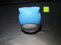Rückseite: Yantu 4er-Pack Mini Behälterspitzer Anspitzer (Eule) - Double Sharpener Hält