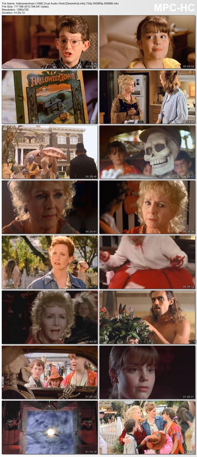 Halloweentown (1998) Dual Audio Hindi 720p WEBRip 800MB Desirehub